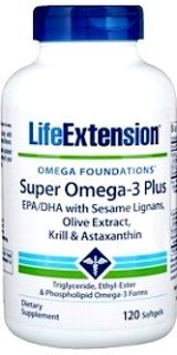 Omega 3 fatty acids from krill and fish oil with Sesame Lignans, Olive Extract & Astaxanthin